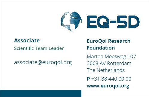 EuroQol visitekaartje EQ-5D