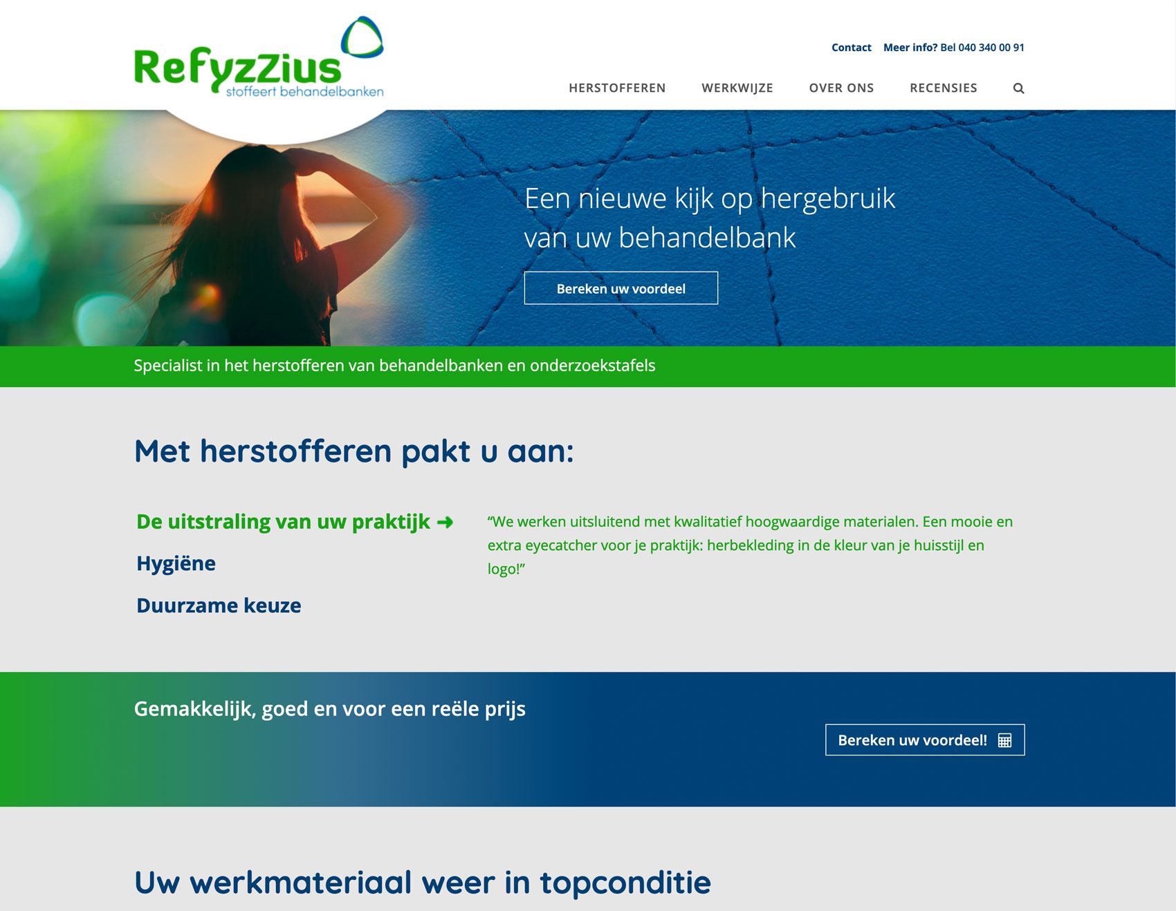 Refyzzius Stoffeert Behandelbanken